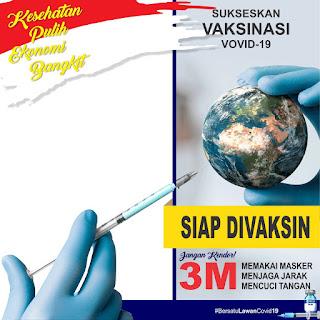Desain Twibbon SIAP Vaksin PSD