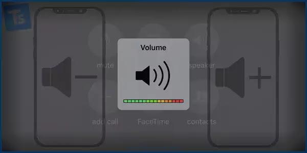مشكل تغيير مستوى الصوت هاتف