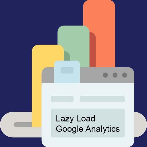 Lazy Load Google Analytics