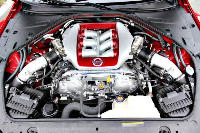 Nissan GT-R Premium 2017 motor