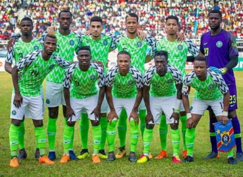 Super Eagles of Nigeria continue to make fashion headlines