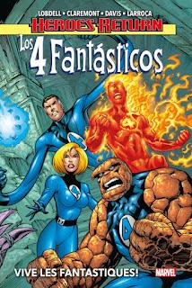 Heroes Return. Los 4 Fantásticos   1 Vive Les Fantastiques!