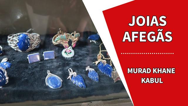 joias afegãs Murad Khane