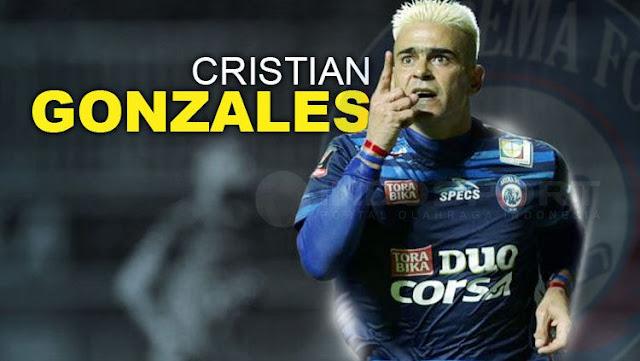 Cristian Gonzales termasuk Tujuh Pesepakbola Indonesia Dengan Penghasilan Tinggi