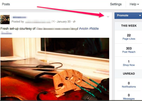 How to Hide A Post On Facebook - Jason-Queally