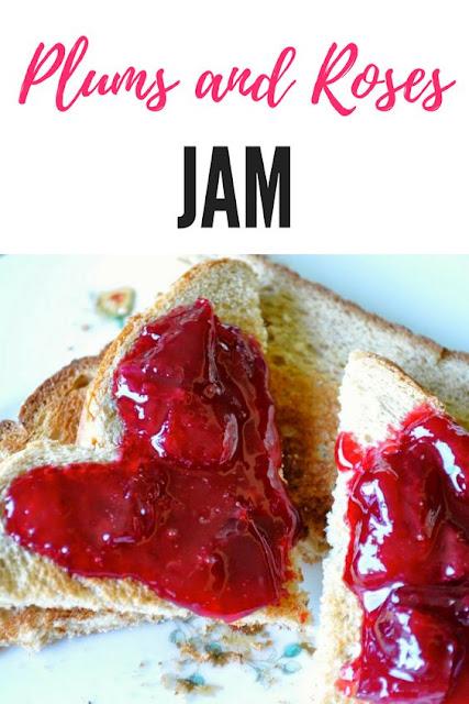 Plum and Rose Jam
