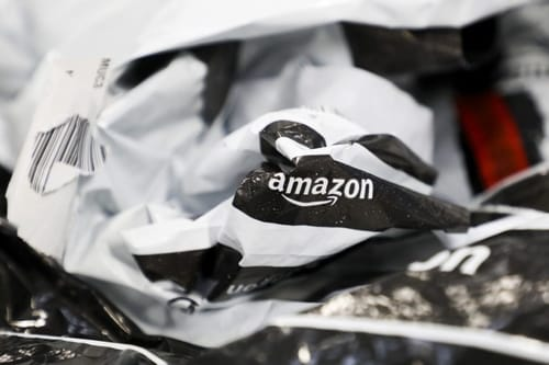Amazon produces millions of kilograms of plastic waste