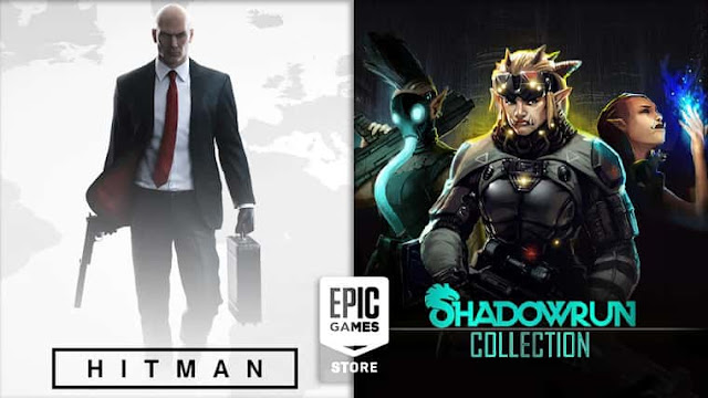 Game HITMAN dan Shadowrun Collection Epic Games