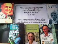 Grigore Vieru - in memoriam. Expozitie