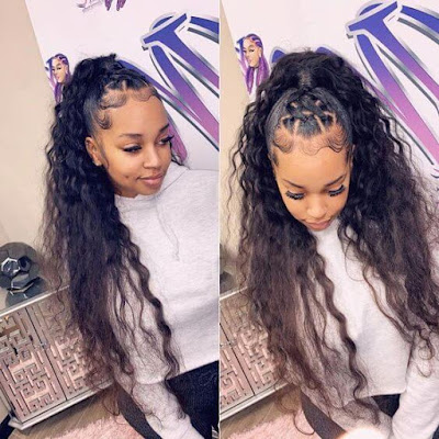 29 Amazing Braided Updos Ponytails For Black Hair That Turn Heads In 2020 Styleafrika