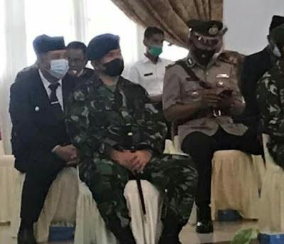 Wako Solok Hadiri Pelantikan Wako Padang dan Pj Bupati Solok Di   Auditorium Gubernur Sumbar