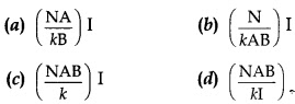 MCQ Questions for Class 12 Physics Chapter 4  Moving Charges and Magnetism with Answer