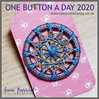 Day 188 : Badge - One Button a Day 2020 by Gina Barrett