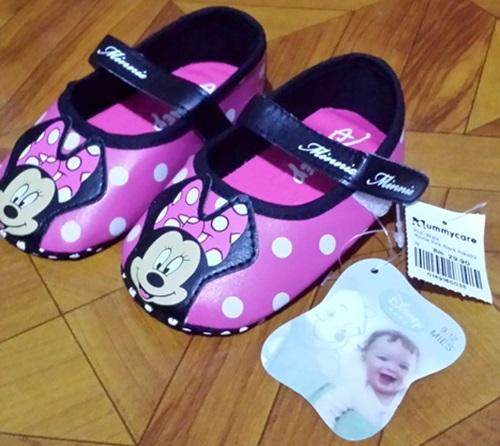 Kasut baby comel, kasut bayi perempuan online, kasut baby prewalker, kasut baby murah