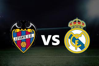 مشاهدة مباراة ريال مدريد و ليفانتي 22-2-2020 بث مباشر في الدوري الاسباني