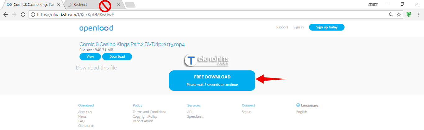 how to download video from openload