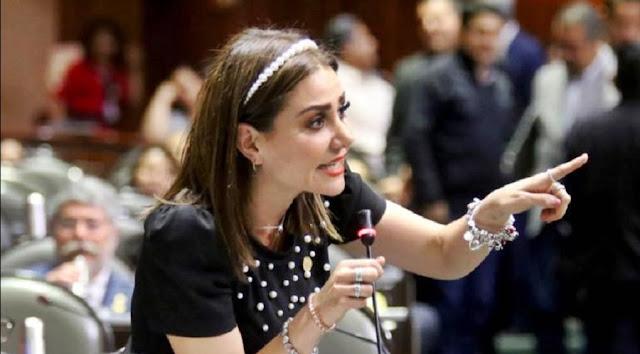 INE sanciona a la diputada Nay Salvatori por promocionar su imagen aprovechando la pandemia