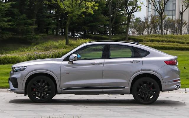 Geely Xing Yue - inspiração no BMW X4