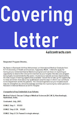 simple covering letter template word doc