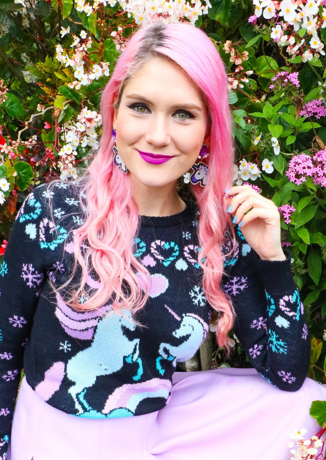 Cute Unicorn Sweater Outfit