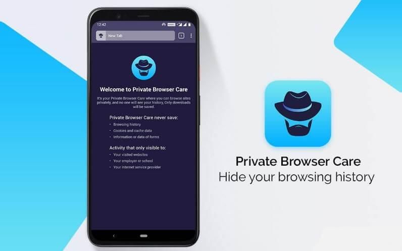 الميزات, الرئيسية, الأخرى, لتطبيق, Private ,Browser ,Care