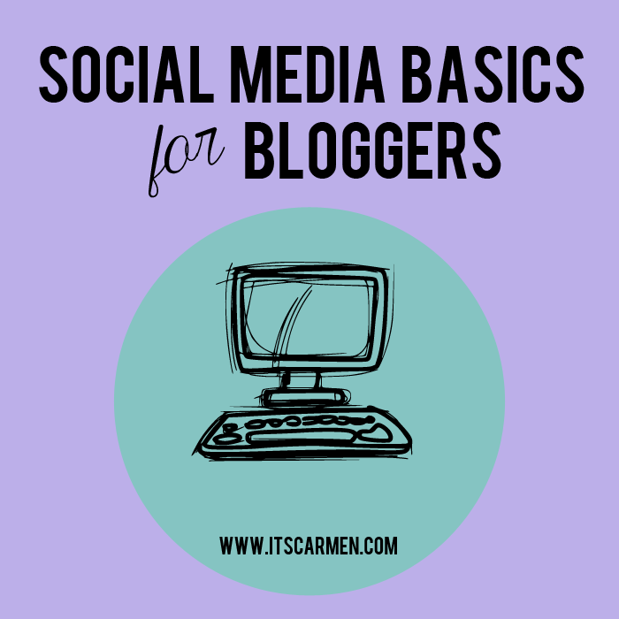 social media basics for bloggers