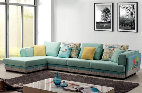 Hướng dẫn chọn ghế sofa phòng khách cho mùa hè thoáng mát