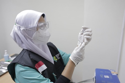 Mirza Agam Gumay Dorong Percepatan Vaksinasi dan Tetap  Patuhi Prokes 3M
