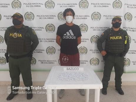 hoyennoticia.com, Lo pillaron con coca en Aguachica
