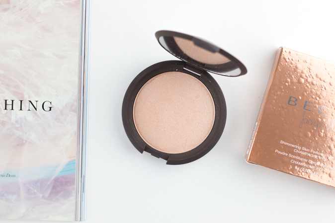becca x jaclyn hill shimmering skin perfector highlighter champagne pop review