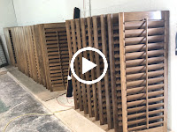 Buitiful Stain Plantation Shutters Florida