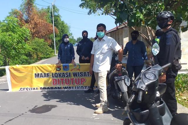 Penutupan objek wisata, warga Mataram protes aparat tak adil