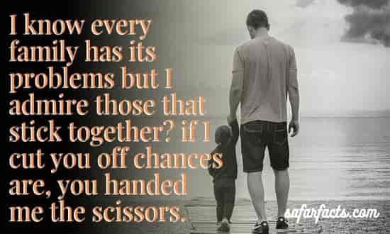 How do you solve family problems?