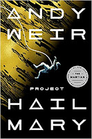 Project Hail Mary by Andy Weir book cover and review