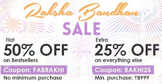 Rakshabandhan Sale: Get Flat 50% Off on Bestseller Furnitures (No min. purchase) @ Fabfurnish