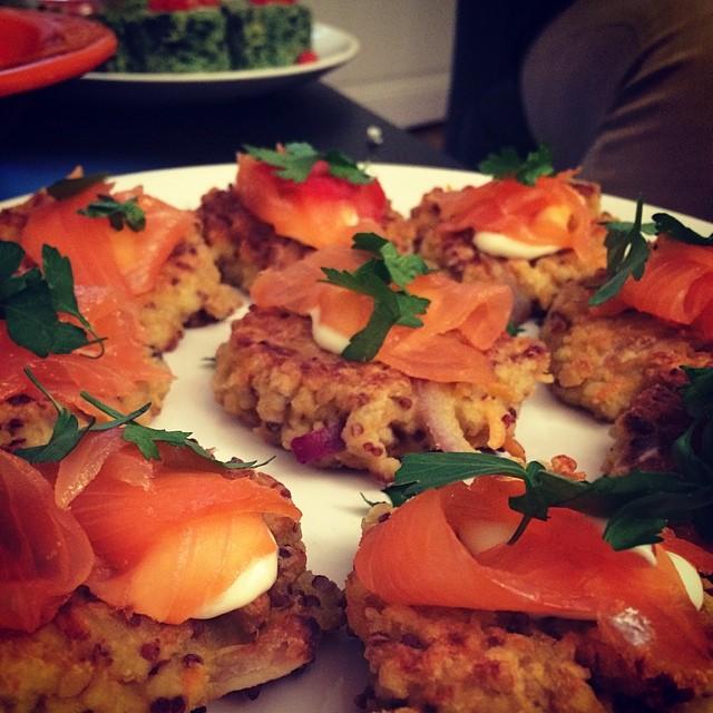 Galettes de quinoa à la carotte