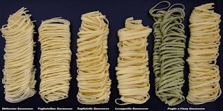 laboratorio tipi di pasta e pastifici italia