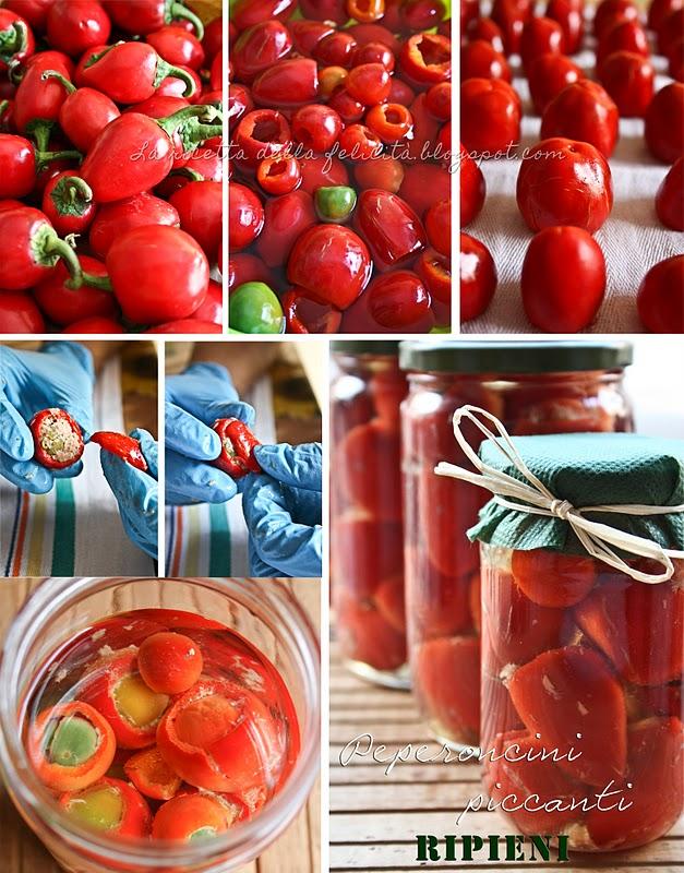 La Settimana Della Cucina Calabrese Peperoncini Piccanti Ripieni