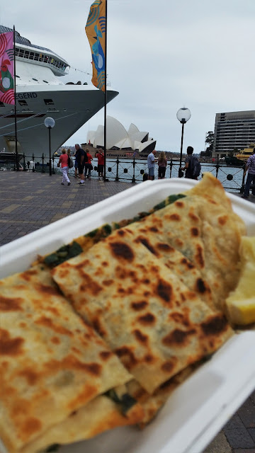 Street food The Rocks Sydney
