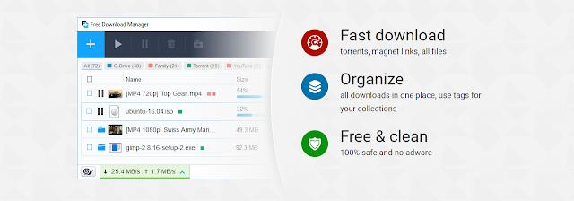برنامج تحميل الملفات مجانا FDM