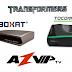 BOXAT HD 100 TRANSFORMADO EM TOCOMSAT PHOENIX HD-16/05/2018