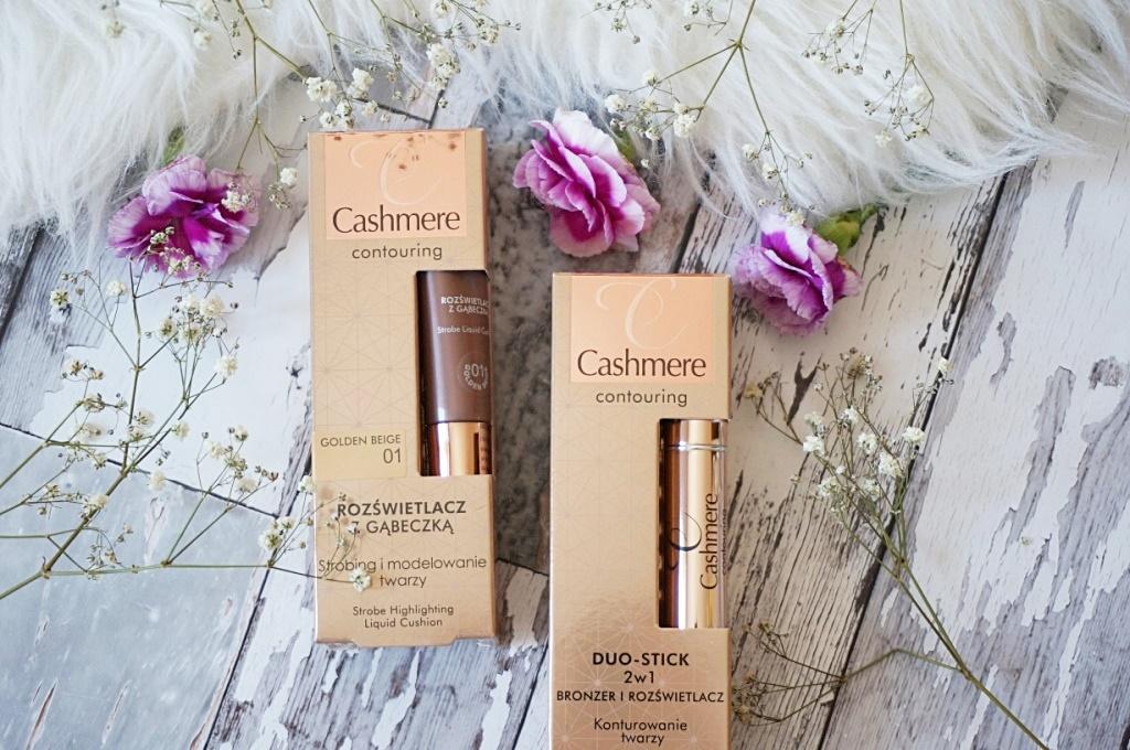 Nowości do makijażu Cashmere Countouring - bronzer 2w1 i rozświetlacz z gąbeczką