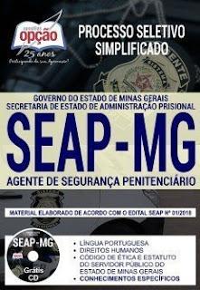 Baixar Apostila Concurso SEAP MG 2018 PDF