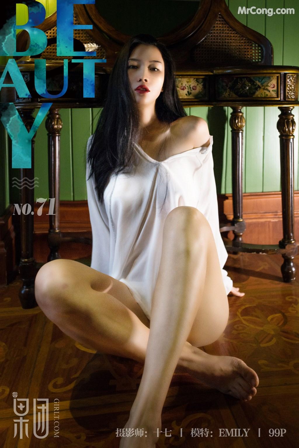 Image GIRLT-No.071-EMILY-MrCong.com-054 in post GIRLT No.071: Người mẫu EMILY (54 ảnh)