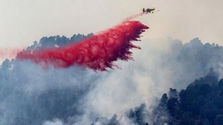 Ισπανία: Τουλάχιστον 3.200 άνθρωποι εγκαταλείπουν τις εστίες τους λόγω πυρκαγιάς