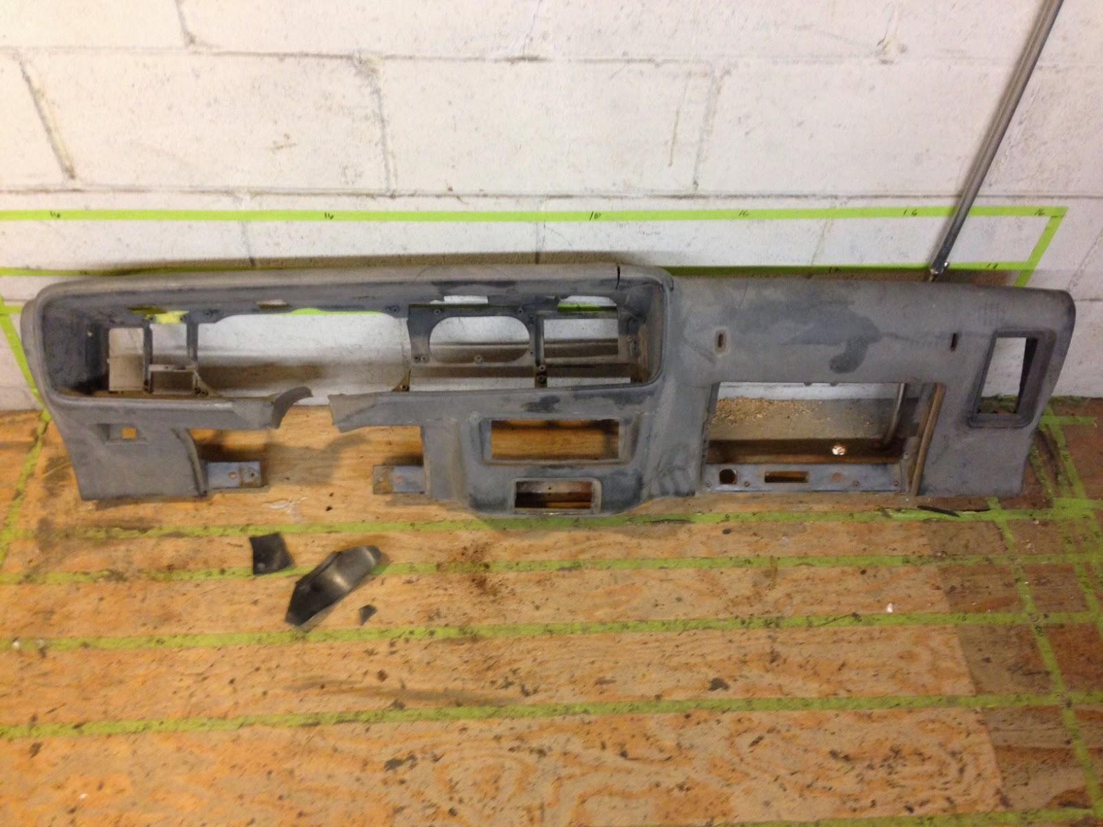 Just Dashes Production Center: Trans Am Firebird Dash Pad