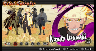 Download Mod Texture Naruto [Rikudo Mode] NSUNI For Emulator PPSSPP