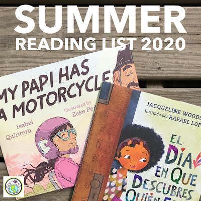 Summer Reading List 2020 HIspanic Latino Bilingue
