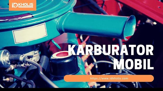 komponen karburator mobil