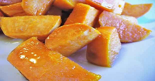 Honey Glazed Sweet Potatoes Recipe